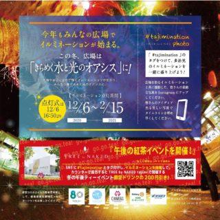 12/6-2/15 虎渓用水広場イルミネーション
